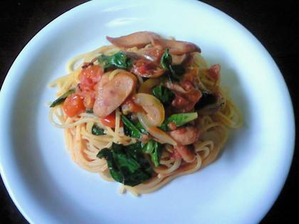 ダブルトマトのスパゲティ2