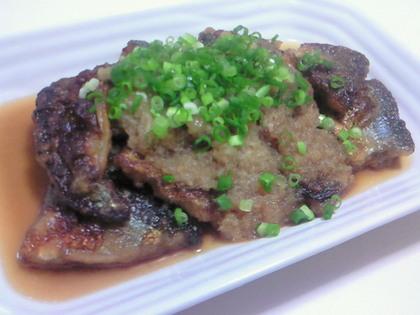 揚げ秋刀魚のおろし煮